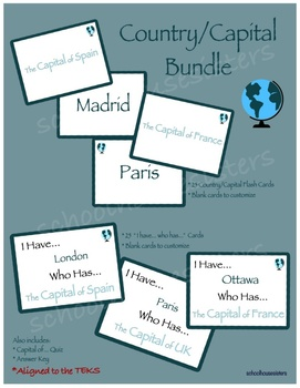 Country Capitals Bundle