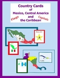 Country Cards of Mexico, Central America and the Caribbean (in Spanish)