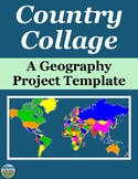 Country Collage Geography Project Template