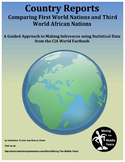 Country Reports - First and Third World Comparisons with CIA World Factbook