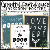 Country Farmhouse Classroom Posters