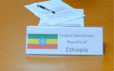 Country Flag Placards: Africa
