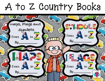 Country Flags, Maps and Symbols from A to Z