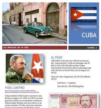 Spanish - Country Focus - Cuba