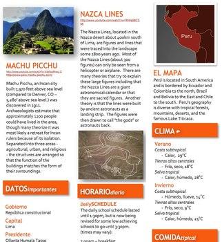 Spanish -  Focus - Peru