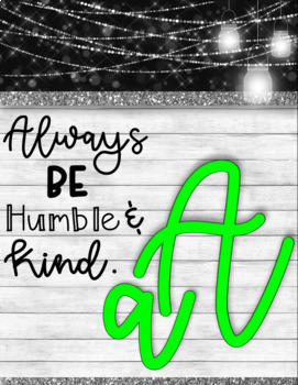 Country Glam Alphabet Line and Quotes - Country Glam Collection (neon included)