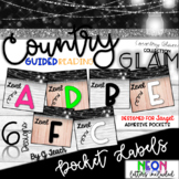 Country Glam Guided Reading Book Bin Labels - Target Pocke