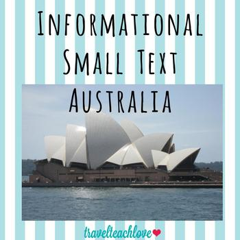 Country Informational Text Australia