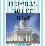 Country Informational Text Finland
