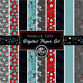 Country Life Digital Paper Set