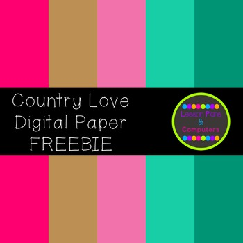 Country Love Digital Paper Sampler