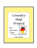 Country * Map Project For German Class
