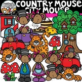 Country Mouse City Mouse Clipart {Reading Clipart}
