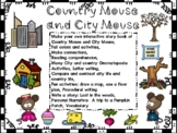 Country Mouse and City Mouse: Reading Comp, Onomatopoeia,