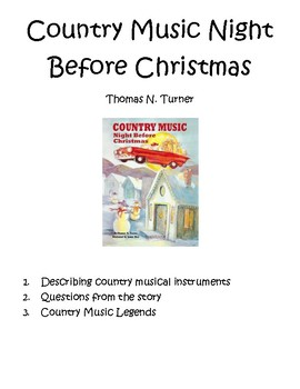 Country Music Night Before Christmas