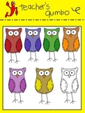 Country Owls Clipart