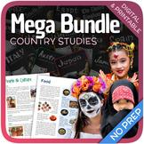 Country Studies Bundle (34 Units)