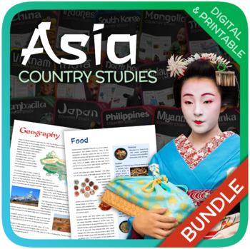 Country Studies Bundle (Asia)