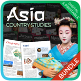 Country Studies Bundle: Asia