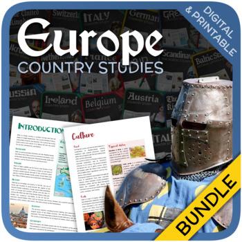 Country Studies Bundle (Europe)