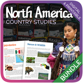 Country Studies Bundle (North America)