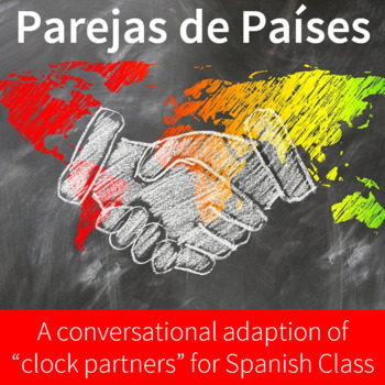 """Country Partners: A conversational Spanish class adaptation of """"clock partners"""""""