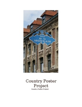 Country Poster Project