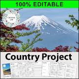 Country Project - 100% Editable