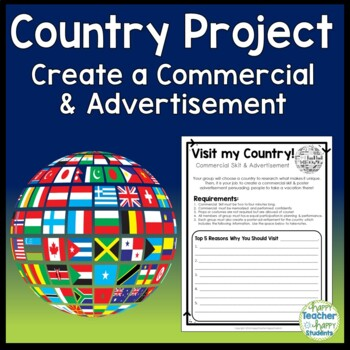 Country Project - Create a Commercial to Attract Tourists - Country Activity