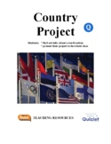Country Project - Research and Present A World Country