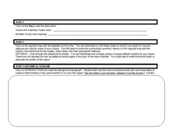 Country Report 7-12 Analyzing the CIA World Factbook Site for Economics & More