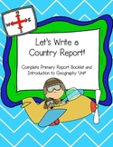Country Report Complete Primary Packet!