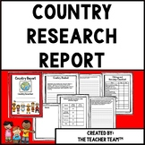 Country Research Project | Countries Research Report
