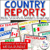 Country Report Research Banner Display Bundle