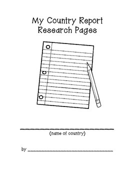 Country Report Research Pages