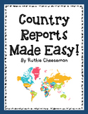 Country Report Trifolds