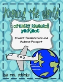 Country Report: with Audience Passport for grades 1st-3rd