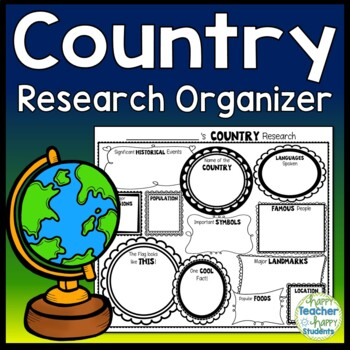Country Research Activity: Country Graphic Organizer