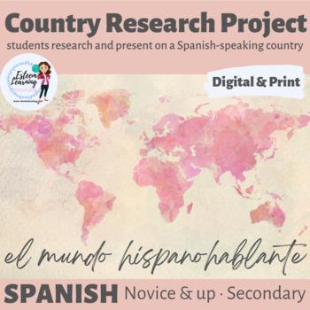 Country Research Activity - Spanish - El Mundo Hispanohablante