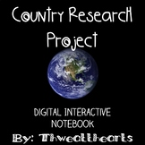 Country Research Digital Interactive Notebook