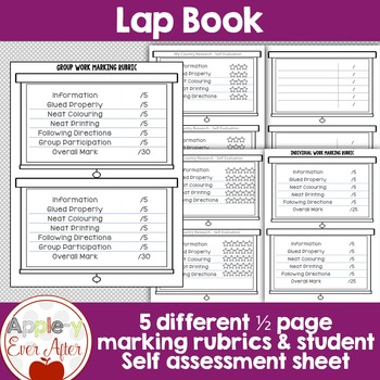 Country Research Lap Book