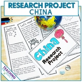 Country Research Project - A Country Study About China