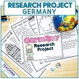 Country Research Project - A Country Study About Germany