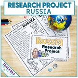 Country Research Project - A Country Study About Russia