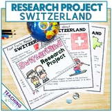 Country Research Project - A Country Study About Switzerland