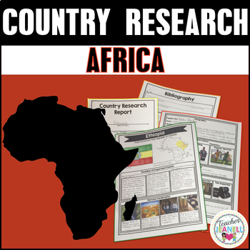 Country Research Project - Africa