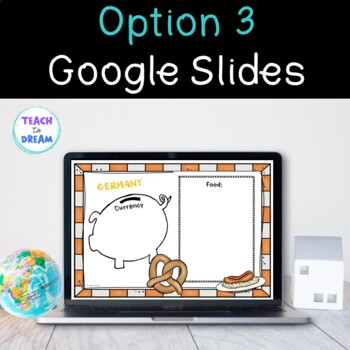 Country Research Project: GERMANY - Interactive Lapbook and Notebook