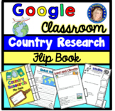 Country Research Project - Google Slides - Distance Learning