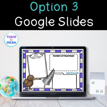 Country Research Project: New Zealand - Interactive Lapbook and Notebook