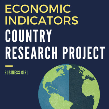 Economic Indicators Country Research Project (Part 2)